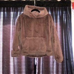Forever 21 fuzzy hoodie